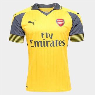 f5857bcb8a651 Camisa Arsenal Away 16 17 s nº Torcedor Puma Masculina
