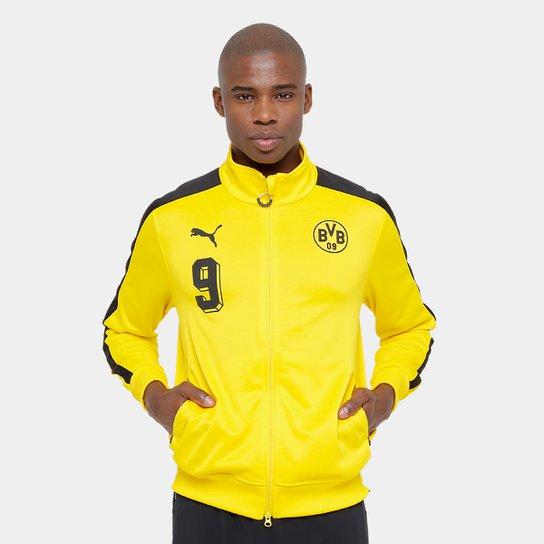 201d284aeeffaa Jaqueta Borussia Dortmund Puma T7 Masculina - Amarelo e Preto | Netshoes