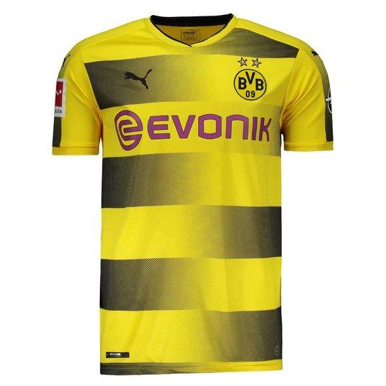 7a8fd709d Camisa Puma Borussia Dortmund Home 2018 Bundesliga - Compre Agora ...