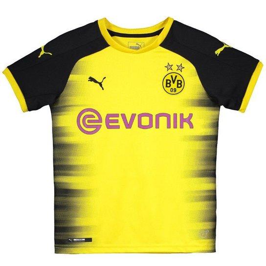 Camisa Puma Borussia Dortmund International 2018 Juvenil - Compre ... f65b7b6b58594