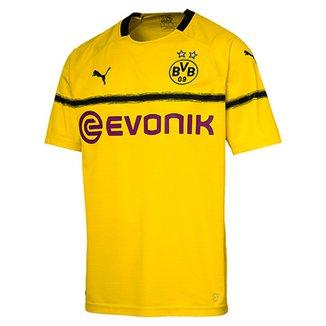 d99969b3d0 Camisa Borussia Dortmund Réplica Cup Sponsor Logo Puma Masculina