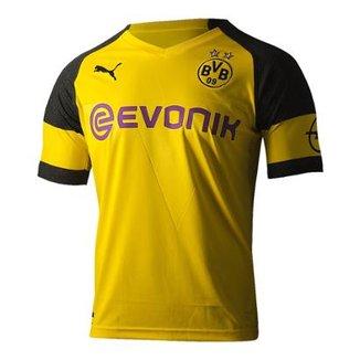 Camisa Borussia Dortmund Home 18 19 s n° - Torcedor Puma Masculina c88cd7cf1ea9b