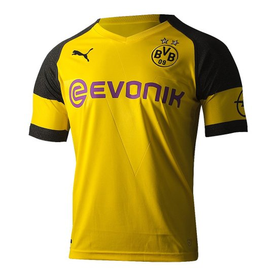 Camisa Borussia Dortmund Home 18 19 s n° - Torcedor Puma Masculina ... 75be0ba49db00