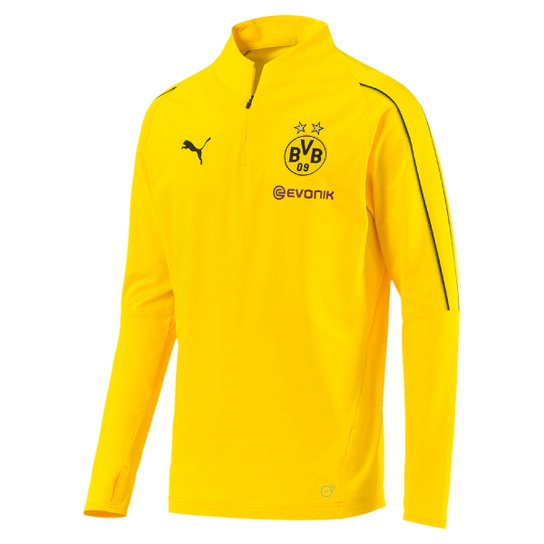 Camisa Treino Borussia Dortmund Manga Longa Puma Masculina - Compre ... 996071bd8af14