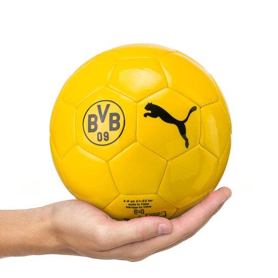 f8b1aa297e1a Mini Bola de Futebol Campo Infantil Puma Borussia Dortmund Graphic - Amarelo