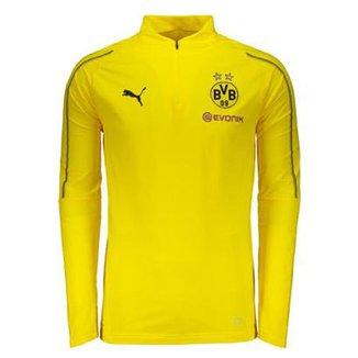 baeca95126d8b Camisa de Treino Manga Longa Borussia Dortmund Puma Training 2019 Masculina