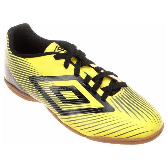 Chuteira Futsal Umbro Speed II Masculina - Amarelo e Preto - Compre ... d42769f41be50