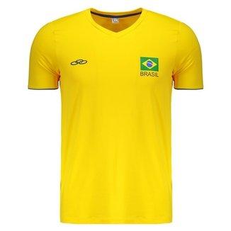 875ed732d2 Camiseta Olympikus Brasil Vôlei CBV 2018
