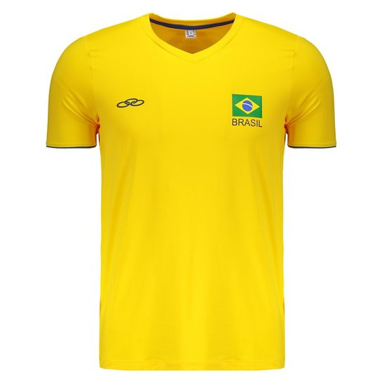 291a4db5f9 Camiseta Olympikus Brasil Vôlei CBV 2018 - Compre Agora