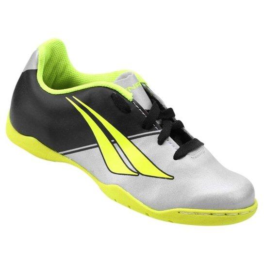 3a41c8639d Chuteira Penalty Futsal K Soccer Matis Vii 126105 - Prata+Preto
