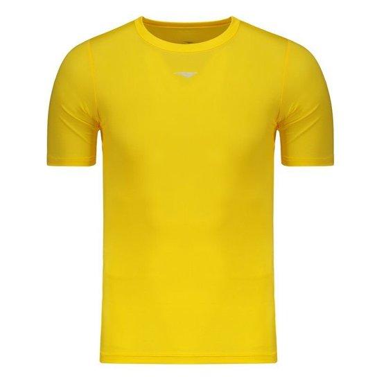 Camisa Térmica Penalty Limited - Amarelo - Compre Agora  91a3ddf7439c2