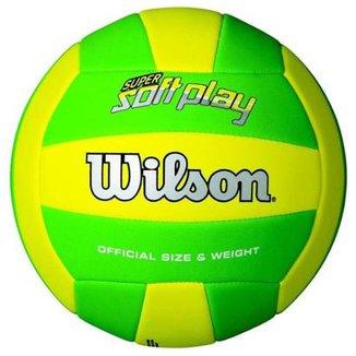 Bola Vôlei Praia Wilson Super Soft Play fb278d0620929