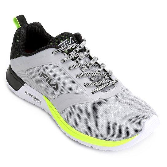 1aa258bfb75 Tênis Fila Fxt Intense Masculino - Prata e Preto - Compre Agora ...