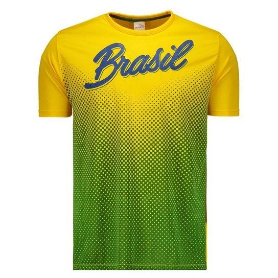 518227e16c Camisa Brasil Gurupi Masculina - Amarelo - Compre Agora