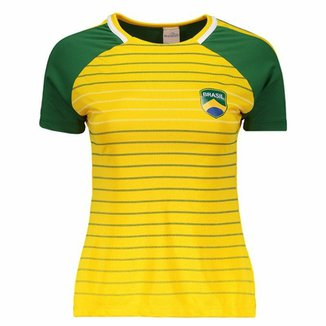 Compre Camisa Feminina Nike Selecao Brasil I 2013 Online  1ef47296f215c
