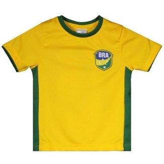 1f8432a973 Camisa Brasil Gravataí Infantil N° 10 Masculina