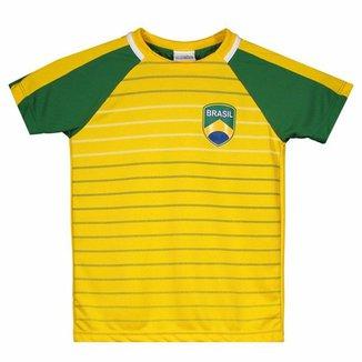 3cd08e1b1 Compre Camisa Seleção Brasileira Infantil Online