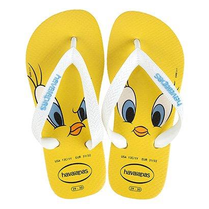 Sandália Infantil Havaianas Looney Tunes