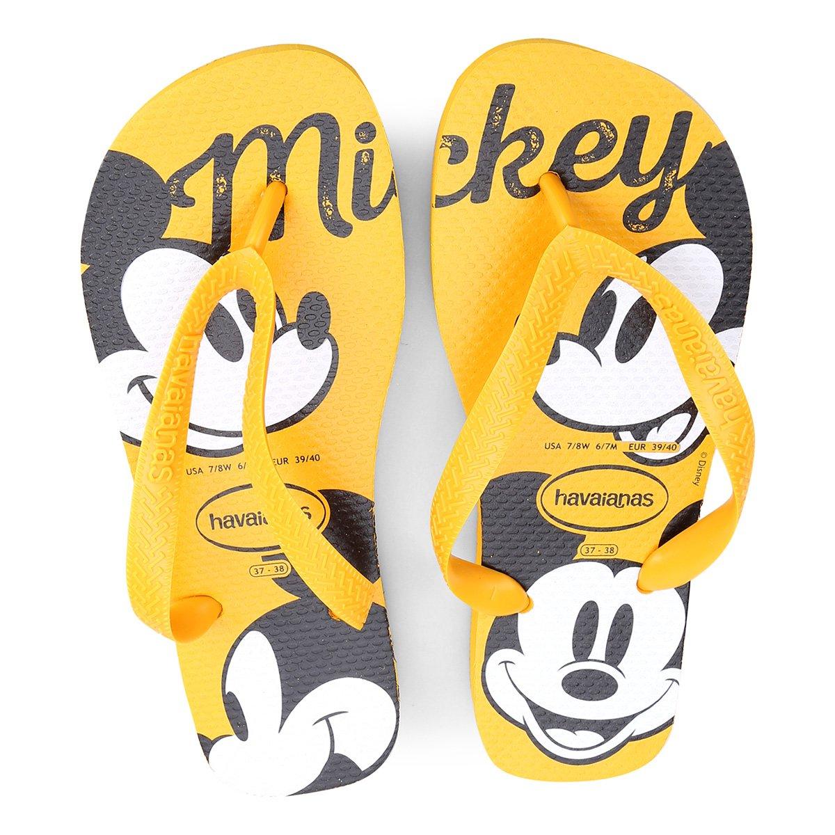 Foto 1 - Sandália Havaianas Top Disney Mickey Mouse