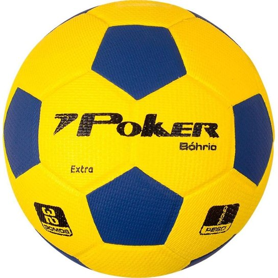 44d8c62b4d Bola Handebol Poker Vulcanizada Bóhrio H3 - Amarelo - Compre Agora ...