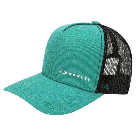 2da2d2bb97 Boné Oakley Aba Curva Mod Chalten Cap Masculino - Verde e Preto ...