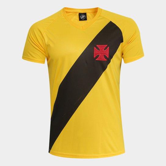 6ade8c4475 Camisa Vasco 2012 s n° Edição Limitada Masculina - Amarelo - Compre ...