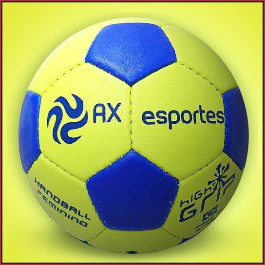 Bola de Handebol Feminino AX Esportes HL2 Costurada - Amarelo ... 5371164900253
