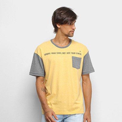 Camiseta Triton Com Bolso Masculina