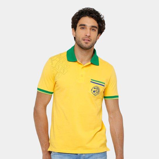 Camisa Polo Forum Piquet Masculina - Compre Agora  0f7e637e1e034