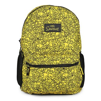 d2bb4b9db Mochila Infantil Pacific Simpsons Faces Masculina