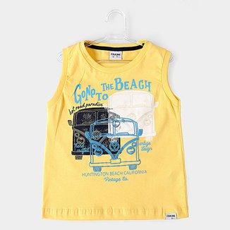 Regata Infantil Fakini Kids To The Beach Masculina 4fce18a1569