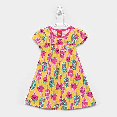 Vestido Infantil Kyly Picolé Evasê