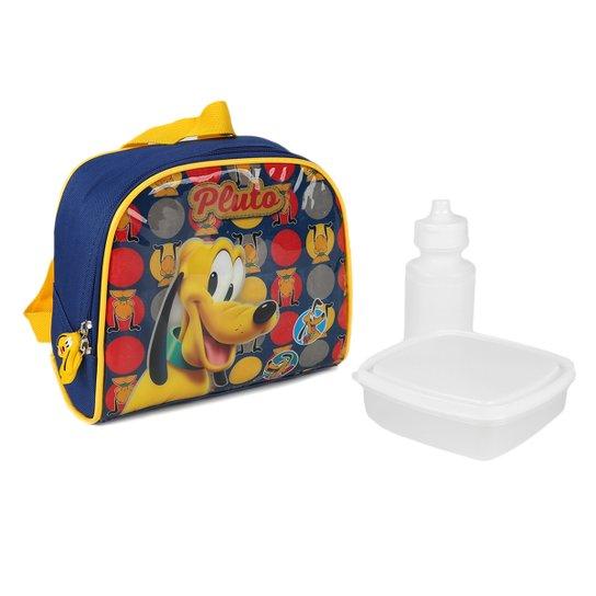 5b589f389 Lancheira Térmica Infantil Escolar Luxcel Disney Pluto   Netshoes