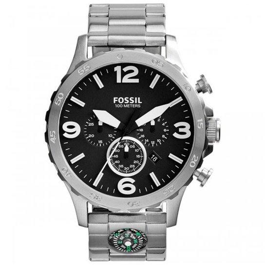 Relógio Fossil Nate JR1490 1PN - Compre Agora   Netshoes b9007141a4