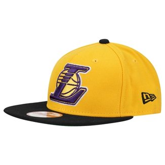 Boné New Era 950 Of Sn NBA Two Tone Los Angeles Lakers 29e34e6586c