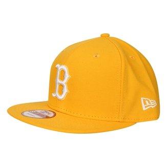 Boné New Era 950 MLB Basic Colors Boston Red Sox d24f8270972