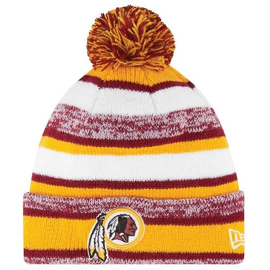 Touca New Era Nfl Redskins Fan Cold Weather - Amarelo - Compre Agora ... bf013ed4a6f
