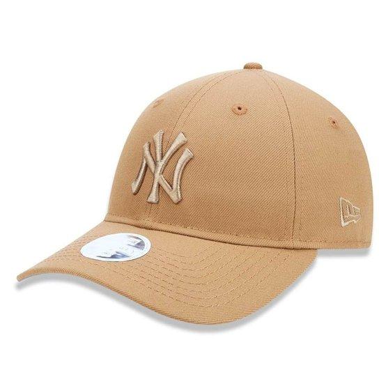 Boné New York Yankees 920 Tonal Feminino New Era - Amarelo - Compre ... 6058fc664d5