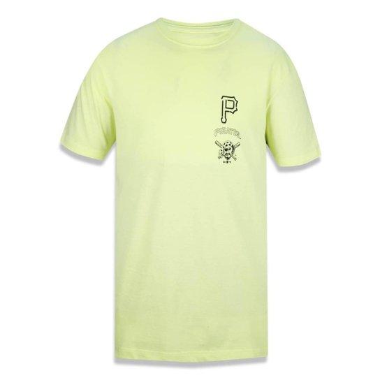 Camiseta Pittsburgh Pirates MLB New Era Masculina - Amarelo - Compre ... 1d0f12d6fbf