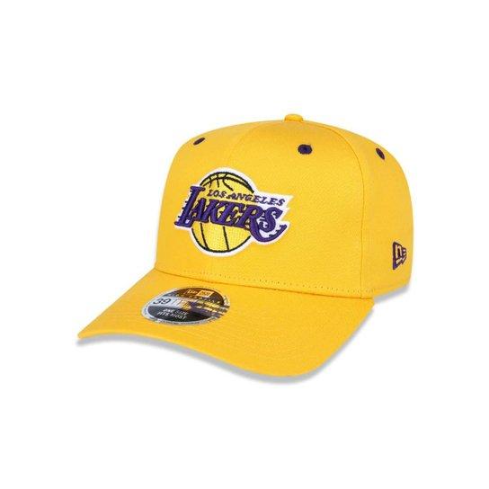 Boné 3930 Los Angeles Lakers NBA Aba Curva New Era - Compre Agora ... b0b66a96042
