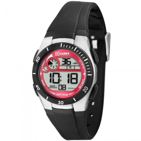 6ea074629de Relógio XGames XKPPD003 BXPX - Prata e Preto - Compre Agora
