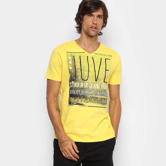 5a9c4a23e Camiseta Juventus Grande Amore Masculina - Amarelo - Compre Agora ...