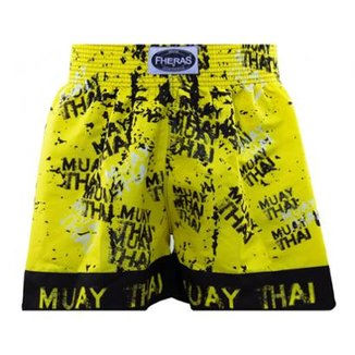 Shorts Boxe Muay Thai Fheras Training