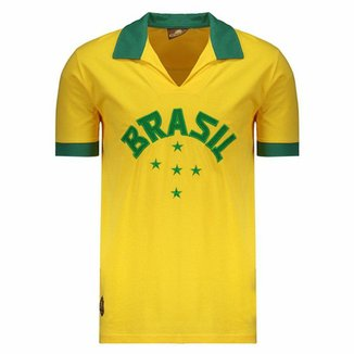 77cf658af Compre Camisa Retro Brasil 70 Online