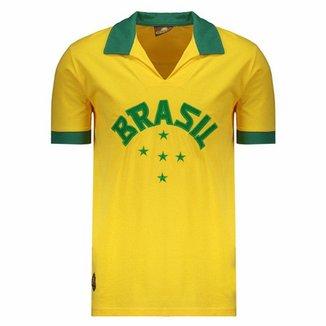 7dffca8f19 Compre Camisa Retro Brasil Online