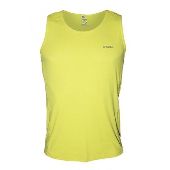 Regata Masculina Running Amni CLN Amarela - Amarelo - Compre Agora ... 63cf2163cf332