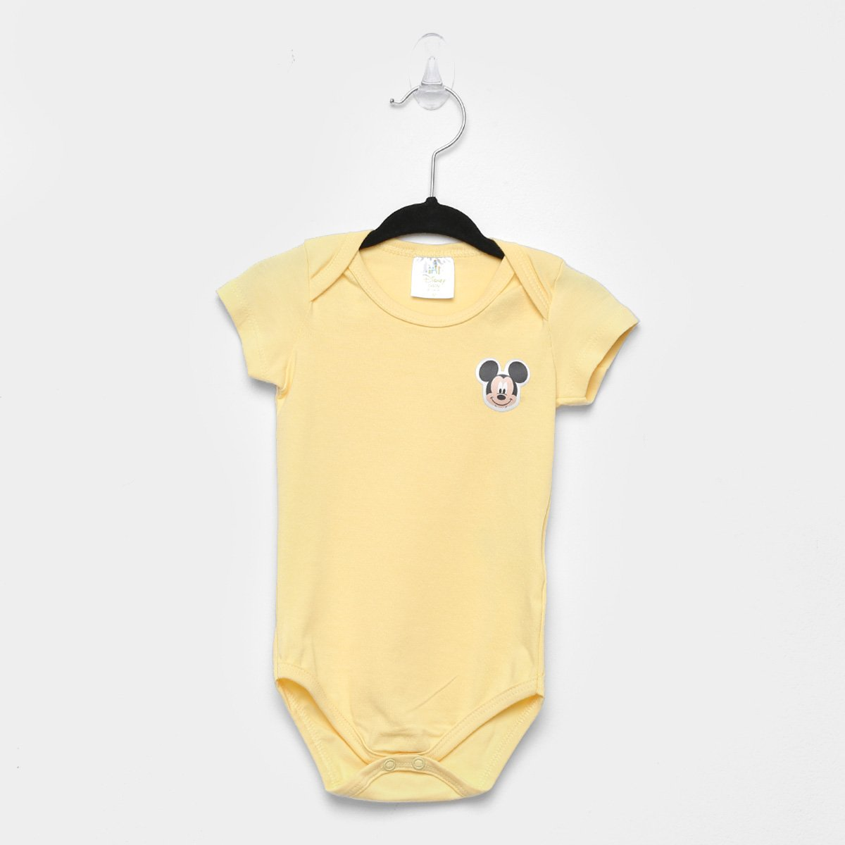 Body Bebê Marlan Básico Mickey Disney