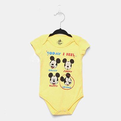 Body Infantil Marlan Mickey Bebê -D6233