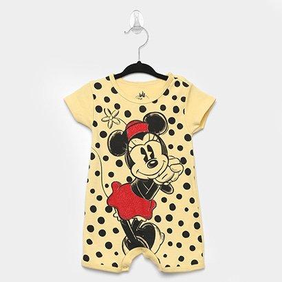 Macacão Infantil Disney Marlan Minnie Bebê Feminino