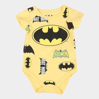 Body Infantil Marlan Batman Masculino